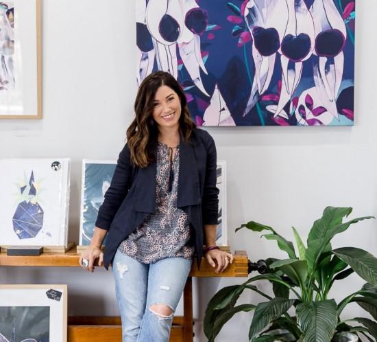 Michelle Fogden has opened her new art studio in Goodwood.