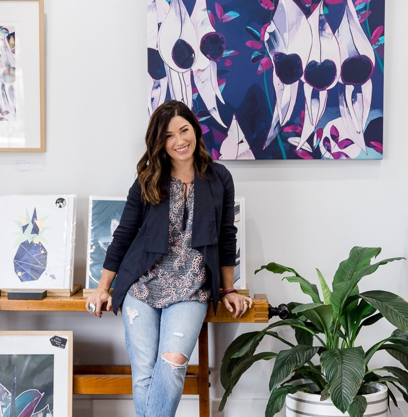 Michelle Fogden has opened her new art studio in Goodwood.